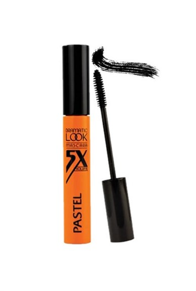 PASTEL DRAMATIC LOOK MASCARA 5X VOLUME SİYAH