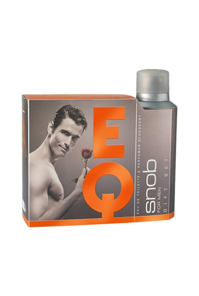 SNOB EQ for MEN Kofre 2li Set